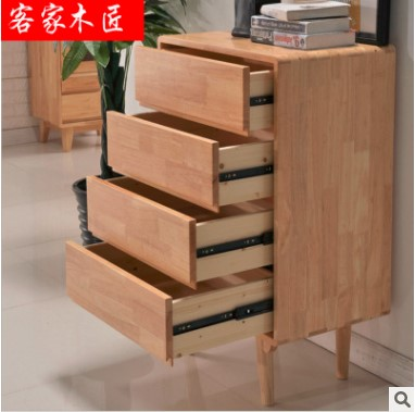 实木储物柜