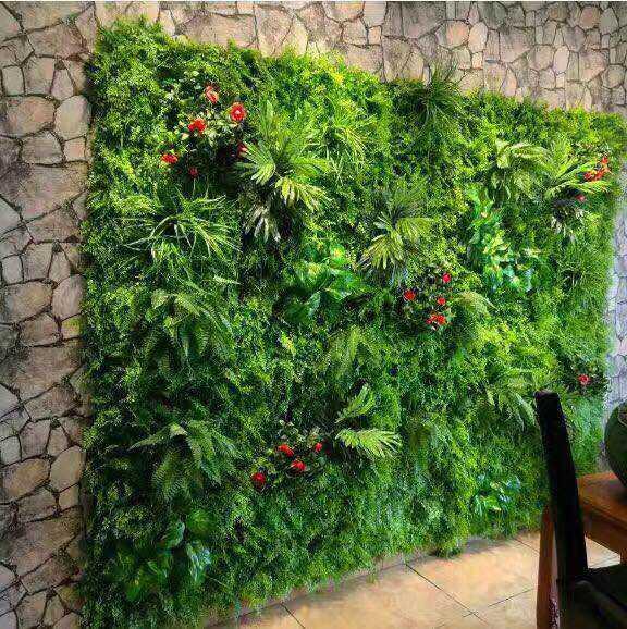 仿真植物装饰墙 草坪墙厂家直销专业设计安装尺寸造型可定制
