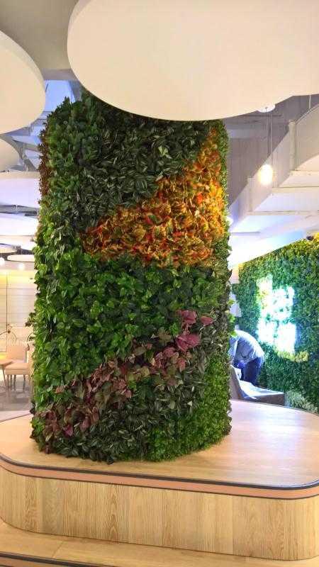 天津沐杉新款仿真植物墙 多年设计安装植物墙经验,多款设计可选