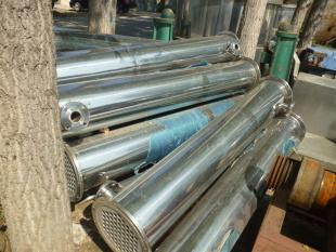 哪里能買到高質量的二手冷凝器-二手三效5噸蒸發器鈦材