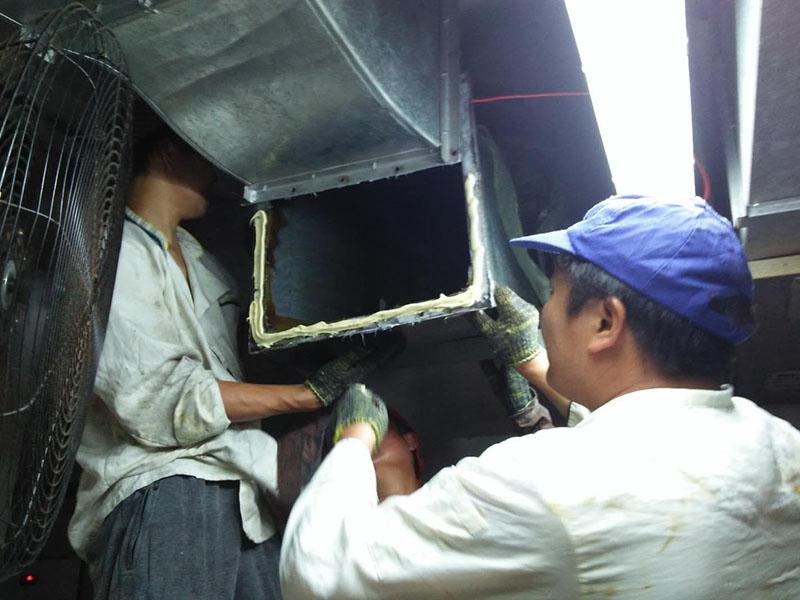 空调清洗公司_立新鑫提供的厨房设备安装服务口碑好