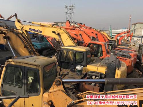 雷波小松挖掘機維修-高水平的小松挖掘機維修公司當選安徽恒浦工程機械維修