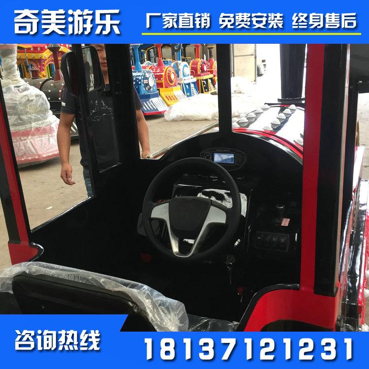 厂家直销的无轨小火车 郑州无轨小火车价格