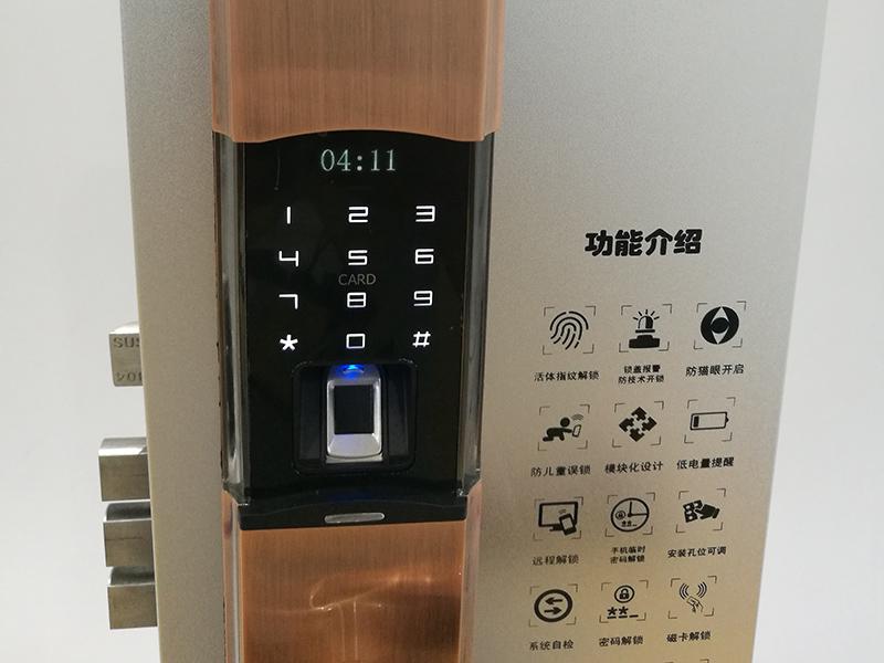 广东高性价指纹锁-价格合理的福乐门锁