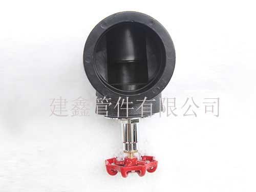 江苏截止阀厂家直销-建鑫管件加工供应高质量的PE截止阀