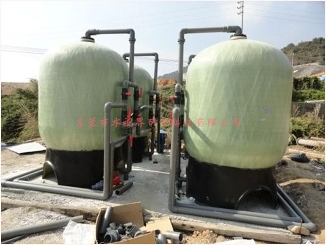 地下井水處理 軟化水設備