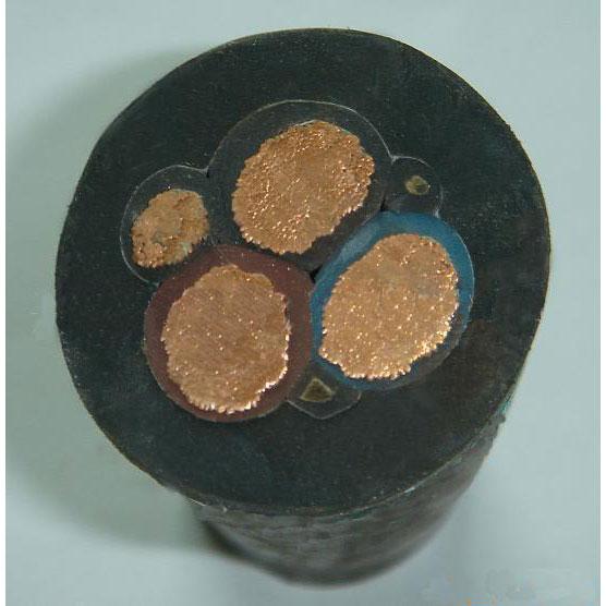35KV交联耐火高压电缆 耐用的橡皮绝缘电线市场价格