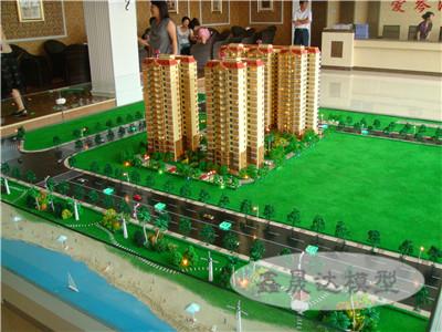 效果逼真的房地产模型——贵港沙盘模型