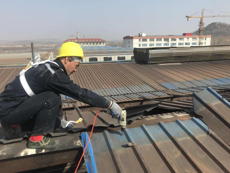 【中东建筑】烟台钢结构厂房安装 烟台钢结构工程