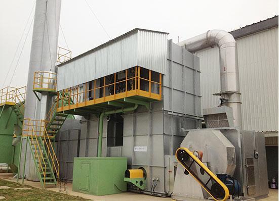 供應河北工業廢氣RTO蓄熱式焚燒爐 化妝品廠廢氣處理