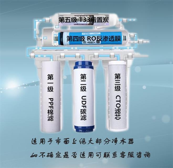 通用净水器滤芯 水处理耗材 品质保证
