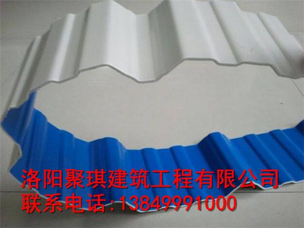 河南专业的pvc塑钢瓦厂商推荐 开封聚酯防腐瓦