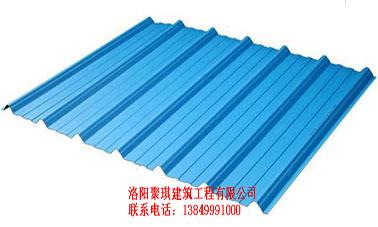 河南小梯形塑钢瓦图片大全_洛阳地区实惠的合成树脂瓦