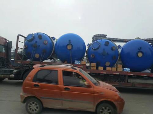 二手反应釜交易价格 回收二手30吨不锈钢反应釜