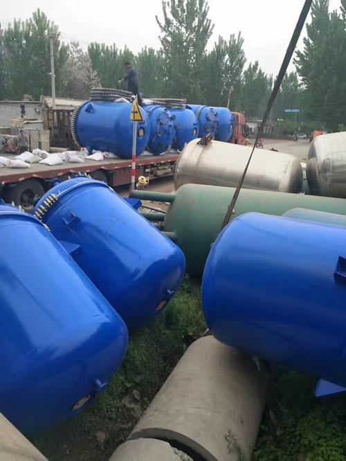 大量出售二手反应釜_回收二手8吨不锈钢反应釜