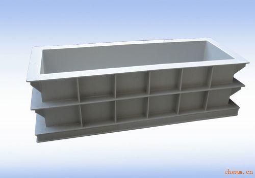 工业废水处理设备聚丙烯高分子材料板材焊接酸洗槽包嵌槽钢定制