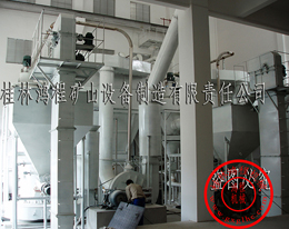 夕线石粉磨设备生产线、石榴子石、霞石HC大型雷蒙磨粉机