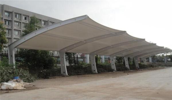 乌海膜结构遮阳棚报价*乌海篮球场顶棚膜结构安装