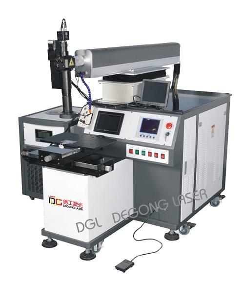 五金制品自动激光焊接