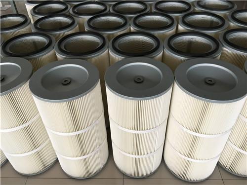 除尘覆膜滤芯-买除尘滤筒就选鑫隆过滤