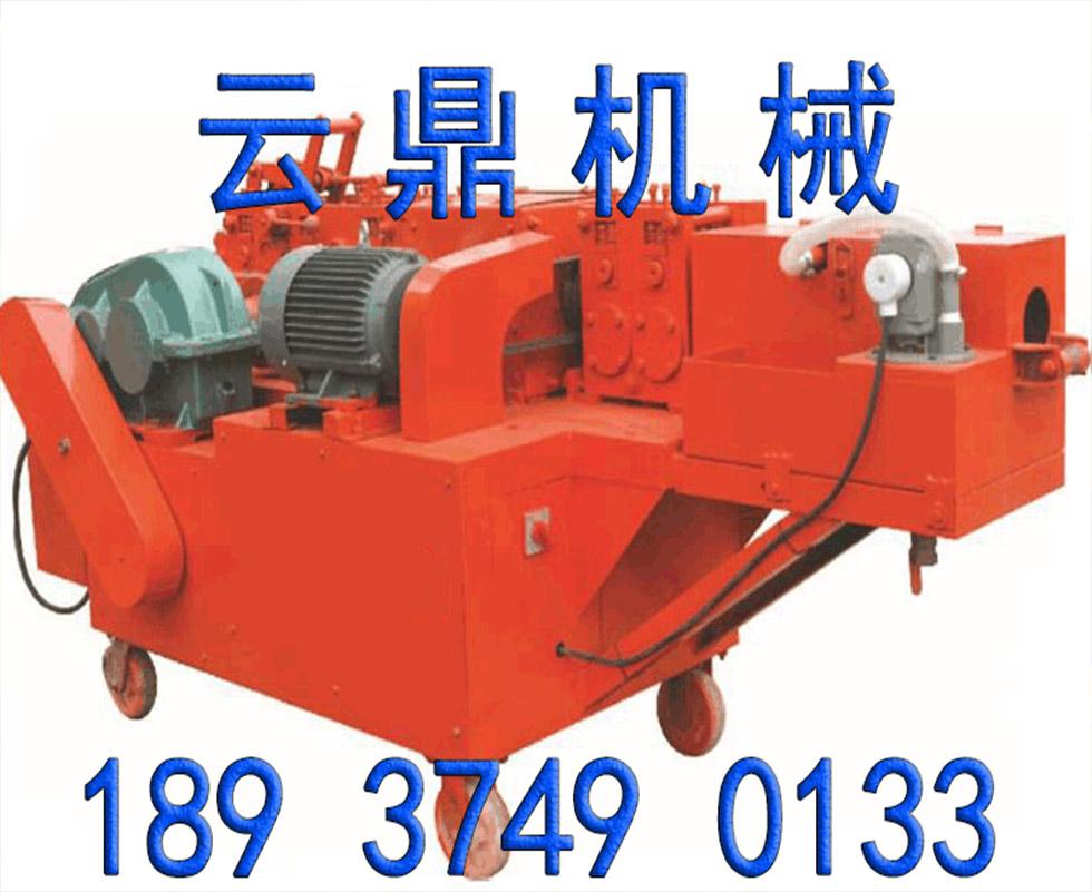 CX-48型钢管除锈调直喷漆机