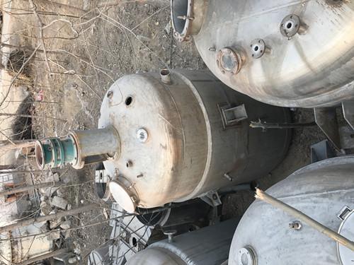 二手不銹鋼反應釜圖片 報價合理的二手反應釜設備推薦