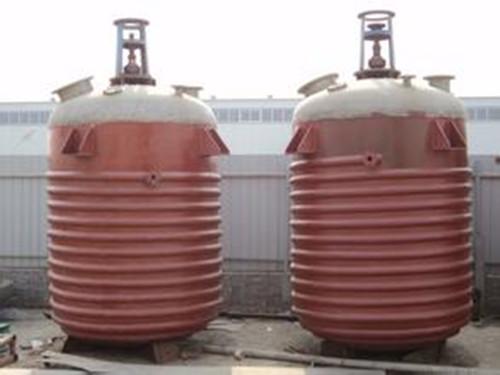 哪里的二手反應釜設備比較靠譜_2噸搪瓷反應釜