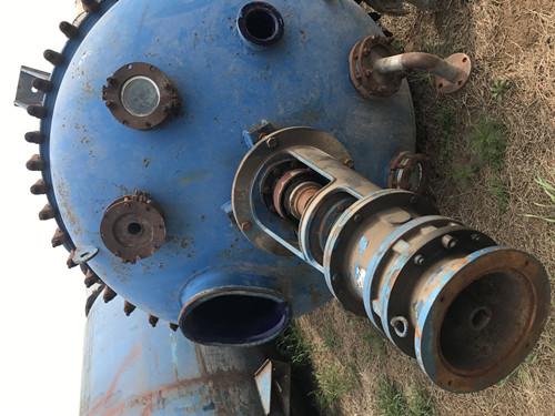 二手內外盤管不銹鋼反應釜|劃算的二手反應釜設備哪有賣