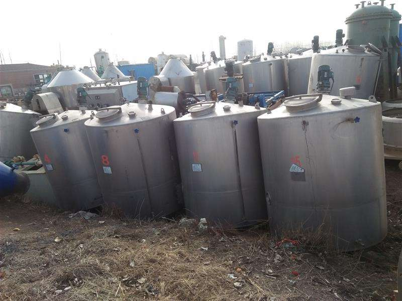 质量好的二手不锈钢储罐批发-回收二手3吨保温储罐