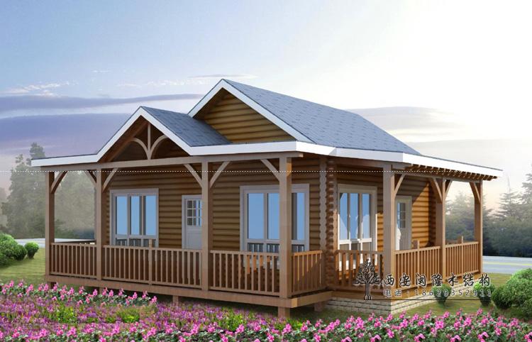 木别墅合作就找闽隆商贸 西式木屋