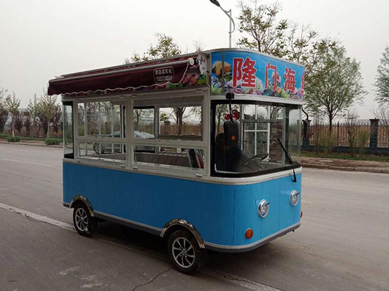 街景款海鲜烧烤车