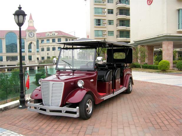 灵宝观光车 买专业的贵宾老爷车当然是到河南绿驰车业了