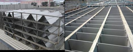 高强度水处理折板,不锈钢折板厂家直销