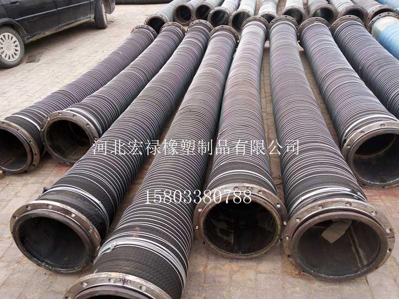 宏禄橡塑制品供应厂家直销大口径夹布胶管|专业大口径夹布胶管