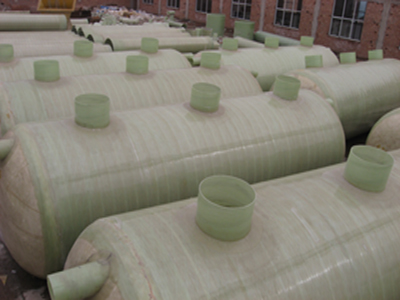 污水处理化粪池 模压玻璃钢化粪池