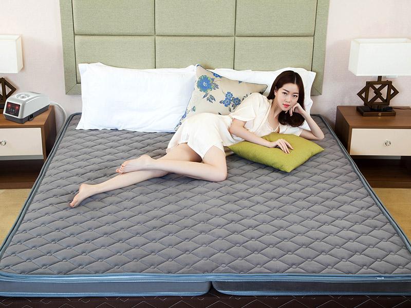 广东口碑好的尤搏思智能无泵水暖乳胶折叠床垫批发商-折叠床垫席梦思