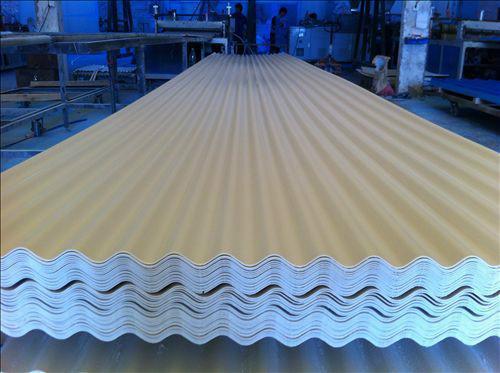 声誉好的PVC防腐瓦供应商当属武汉天弗来阳光板材|PVC防腐瓦多少钱