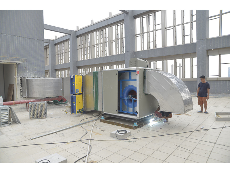 佛山哪里有供应专业的油烟净化工程-新品油烟净化工程