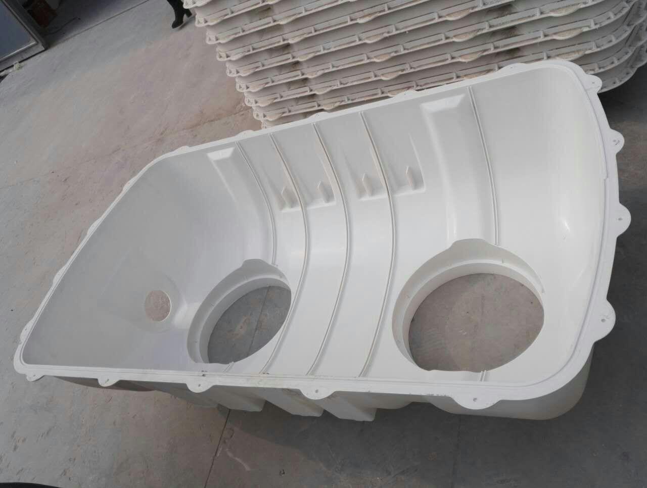 新农村改厕专用化粪池 模压玻璃钢化粪池