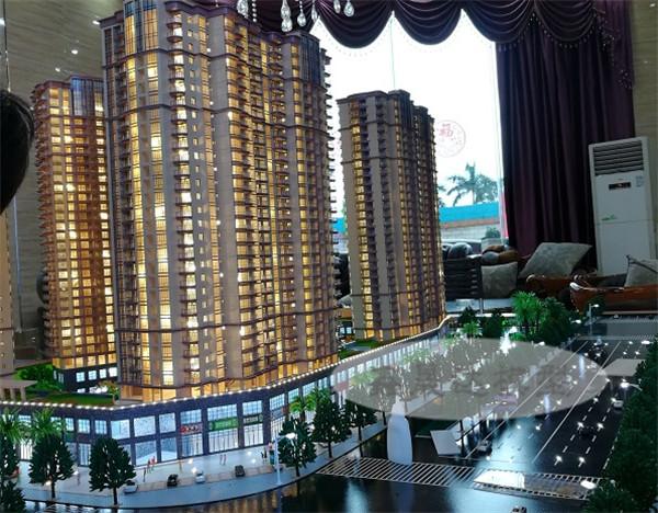 南寧售樓模型-建筑模型定做價格