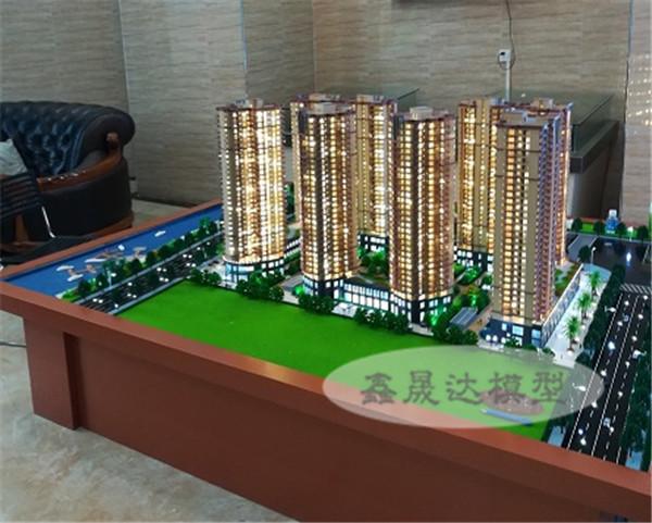 南寧售樓模型-仿真效果真實的建築模型