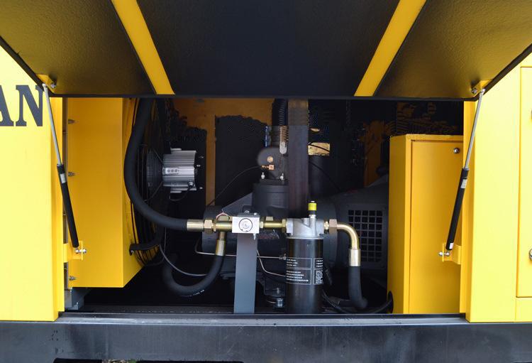 买销量的开山13方电动移动空压机当选开山压缩机|榆林开山13方电动移动空压机