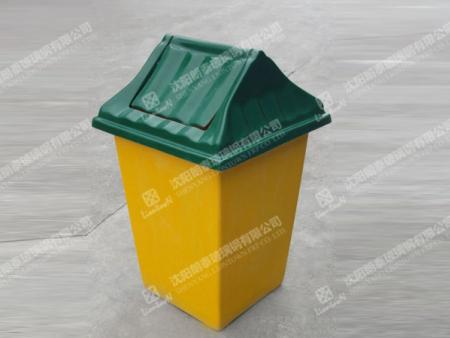 做工精美的玻璃鋼垃圾桶在沈陽火熱暢銷 沈陽購物中心玻璃鋼美陳定制