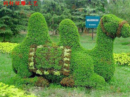 哪儿有实力可靠的植物绿雕园林合作,植物绿雕