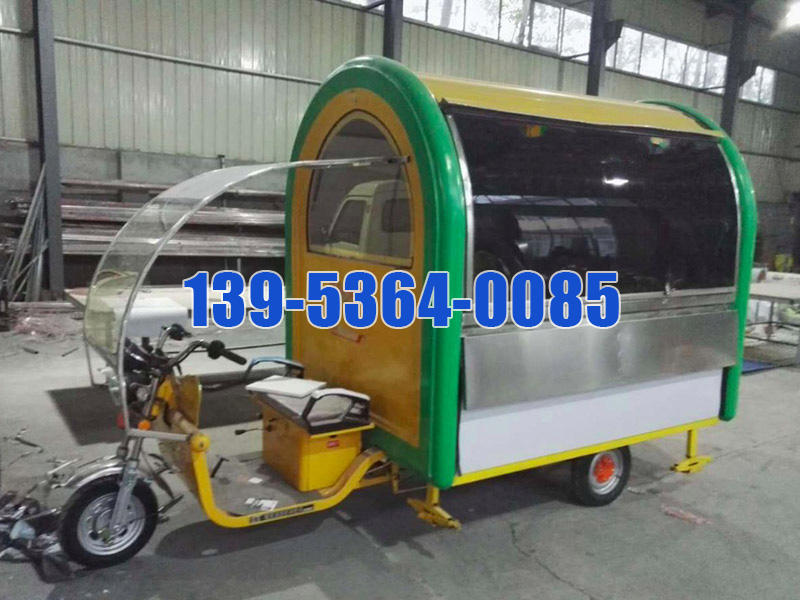 潍坊专业的流动快餐车哪里买-河南电动街景餐车