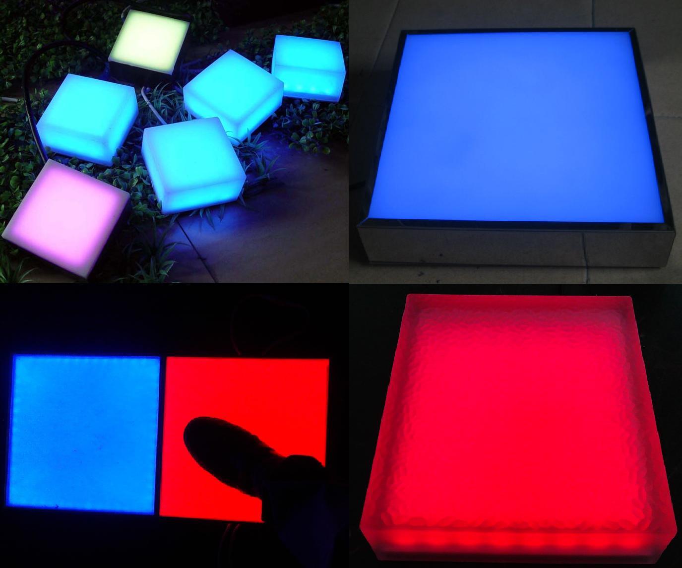造型地砖灯非标定制