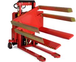 可以倾斜和翻转箱体和框体箱体翻转车配固定式箱托