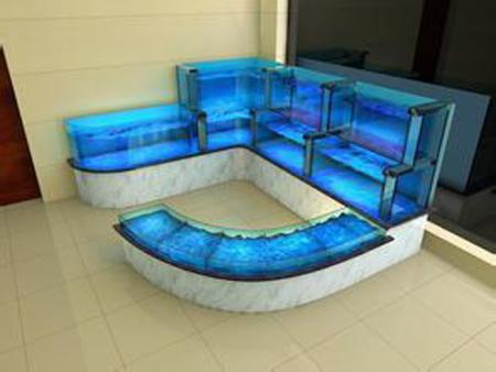 定做海鲜池鱼缸