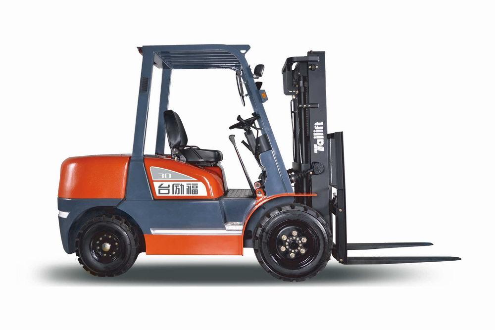 洛阳叉车手动搬运车小吨位柴油叉车H系列3.0吨