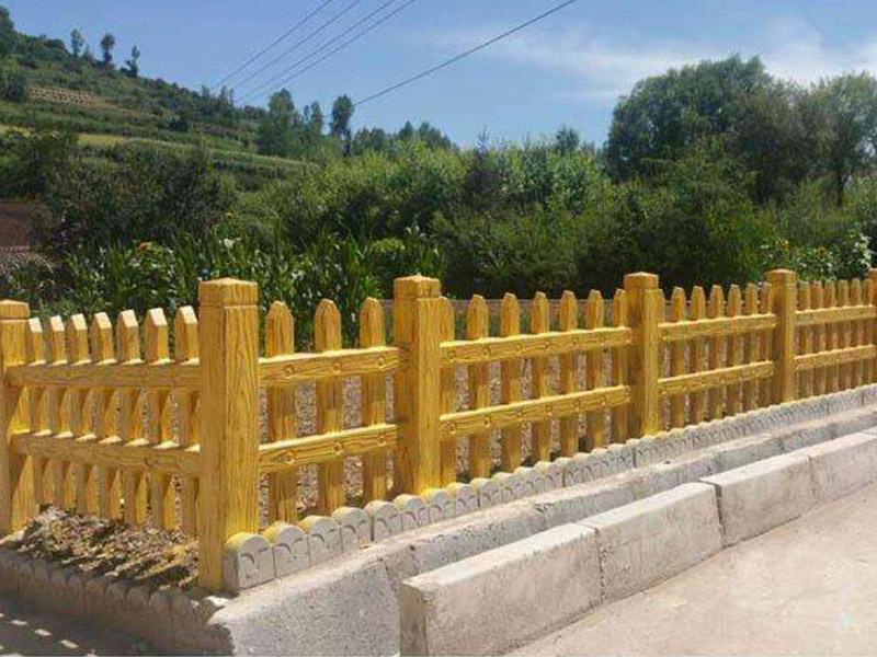 厂家直供仿木栅栏多少钱|供应黄冈好用的仿木栅栏